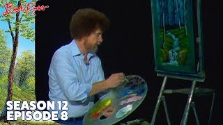 Bob Ross - Evening Waterfall (Season 12 Episode 8)
