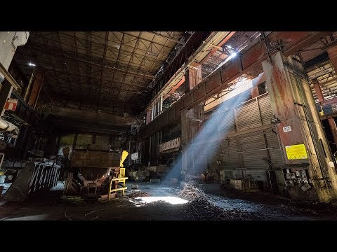 Massive Abandoned Steelworks - Sealed Inside by Security