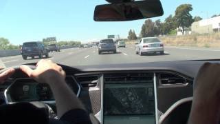 Tesla Performance Model S Test Drive - 6-23-12
