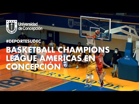 #DeportesUdeC: Basketball Champions League Americas en Concepción