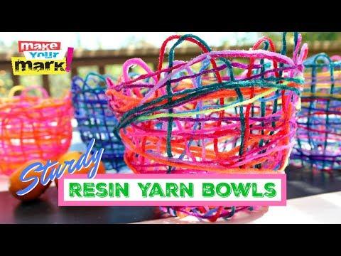 Resin Yarn Bowls
