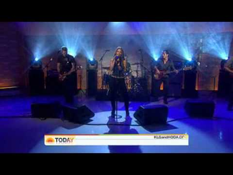 Jessie James - I Look So Good ( Without You ) - Live Today Show 10/07/2009