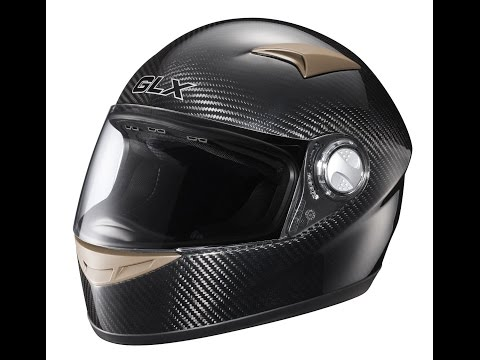 Composite materials in motorcycle helmets (Carbon fibre reinforced plastic)