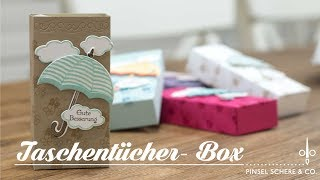 Gute Besserung   Taschentücher-Box   Stampin