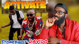 Download Stonebwoy, Davido - Activate (Official Video) *FREEZY REACTION*