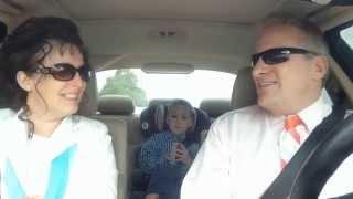 good looking grandparents really sing disney s frozen love is an open door