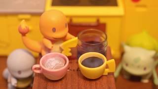 Miniature Cooking Toy.Pokémon Kitchen Stopmotion Animation