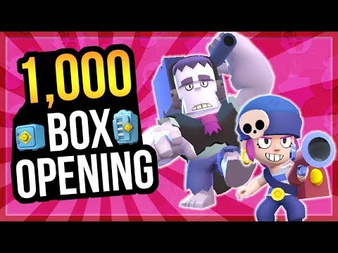 Max Penny & Frank Gameplay! 1,000 Box Opening! [Brawl Stars]