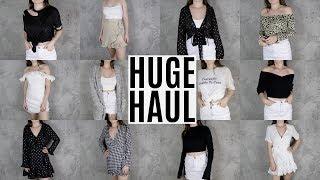 HUGE FALL TRY ON HAUL 2017 | Fashion + Clothing Haul