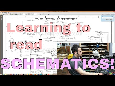How do you read a schematic? My loaded answer to a loaded question!