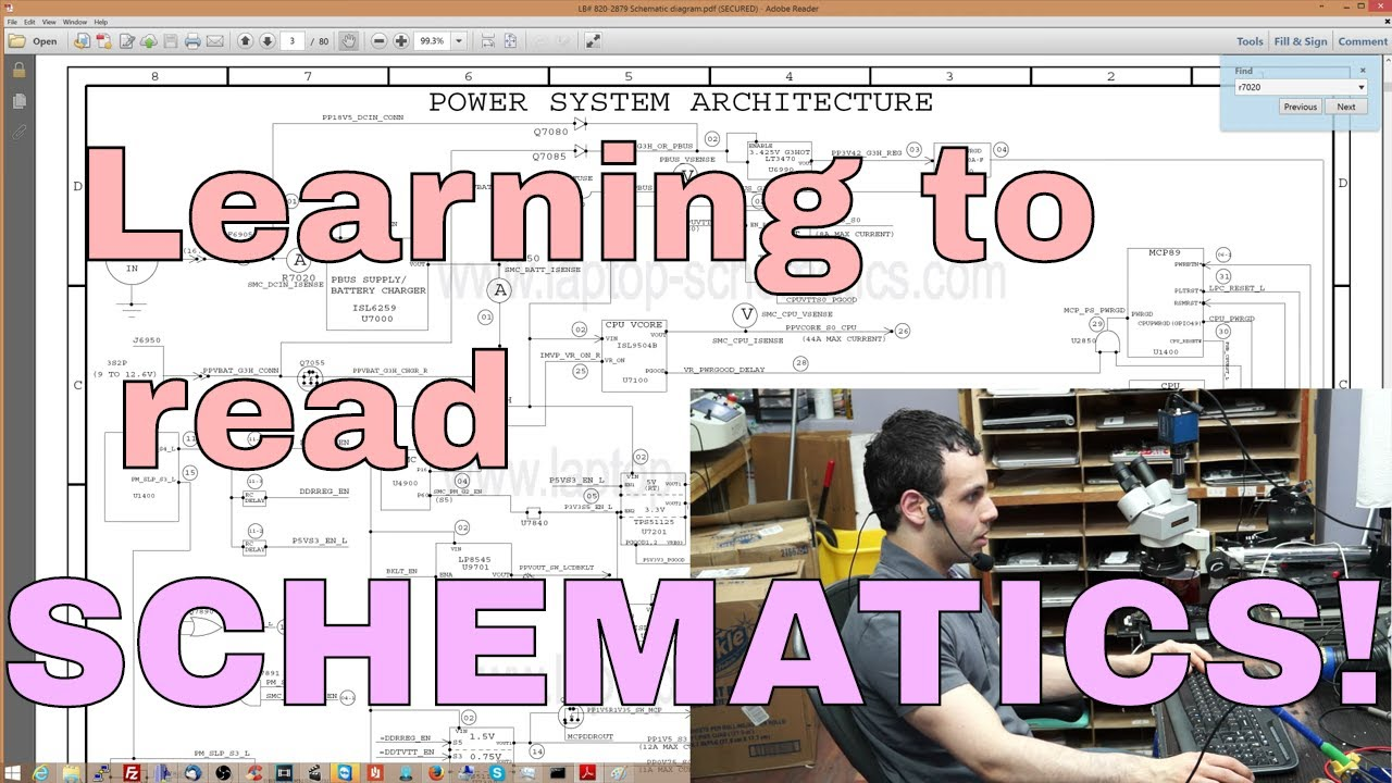 How Do You Read A Schematic My Loaded Answer To Question Electronics Schematics