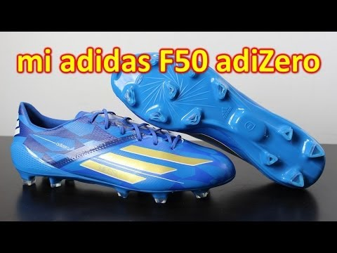mi Adidas F50 adizero 2014 Battle Pack Messi - Review + On Feet