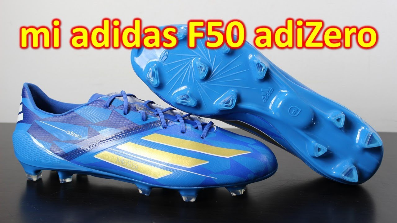 mi Adidas F50 adizero 2014 Battle Pack Messi - Review + On Feet. Soccer  Reviews For You 9d10cdef7
