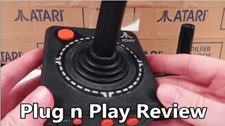 Atari TV Games Plug N Play System Review - The No Swear Gamer Ep 48