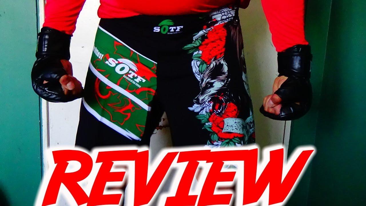 Unboxing pantaloneta MMA SOTF