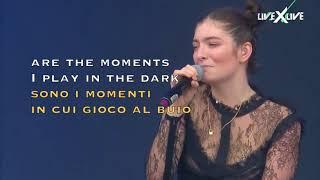 Lorde - Supercut - Live 2017 (Lyrics on Screen) (Traduzione Italiana)