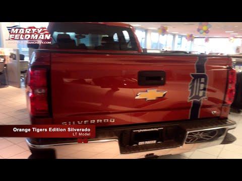 Silverado Detroit Tigers Edition In Orange Youtube