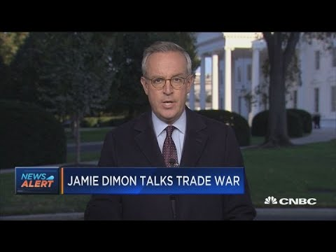 Jamie Dimon talks trade war