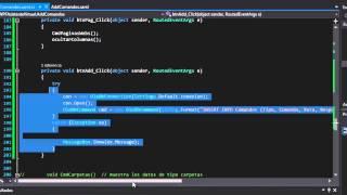 Crea tu Asistente Virtual en C# WPF Access Parte 3
