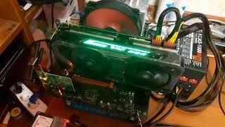 Palit GeForce GTX 1080 Ti JetStream 11GB ( Micron ) Майнинг в программе Kryptex