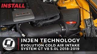 2018-2019 Mustang Install: Injen Evolution Cold Air Intake System