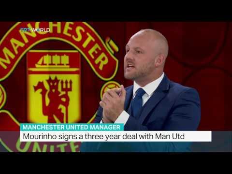 TRT World Sports Correspondent Lance Santos talks about Manchester United's Mourinho deal