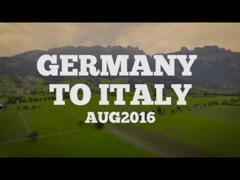 Germany to Italy Roadtrip (with some Austria, Switzerland, and Liechtenstein in between!)