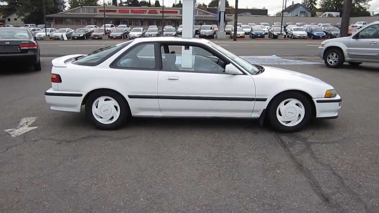 1992 Acura Integra, White - STOCK# TR11263 - YouTube