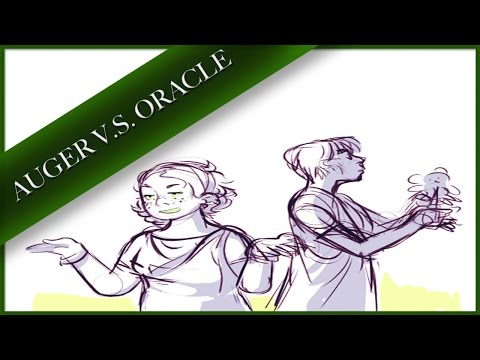 """Auger V.S. Oracle"" – Percy Jackson Comic Dub Drama"