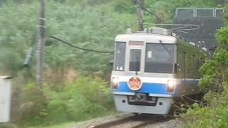 福岡市営地下鉄1000系「筑前前原行き」今宿駅付近通過