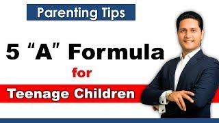 Parenting Tips in Hindi ✔️ Parenting Tips to Discipline Teenagers | Video by Parikshit Jobanputra