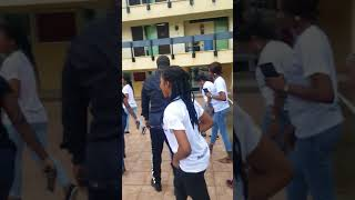 UNILAG Girls Go GAGA Crazy for Harrysong