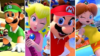 Mario Tennis Aces - All Character Entrance Animations