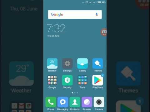 How to Lock Home Screen Layout in Redmi 4 / Note 4