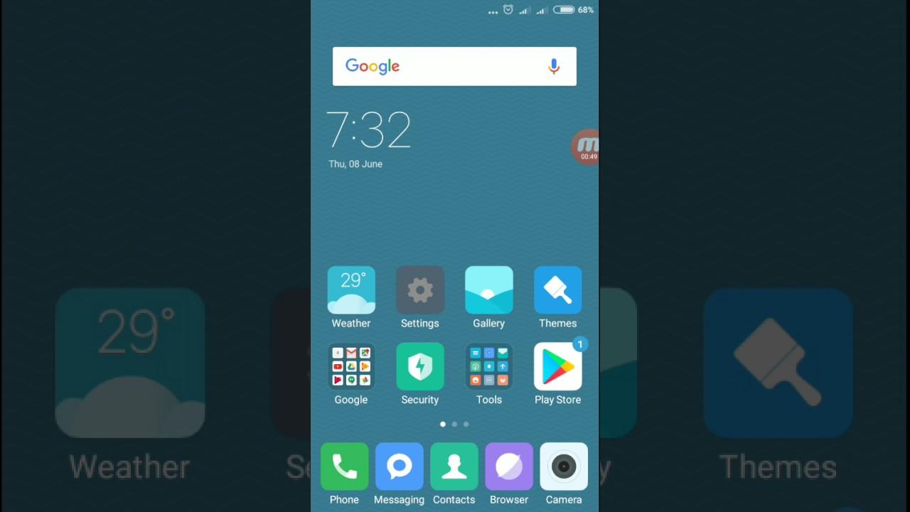 How To Lock Home Screen Layout In Redmi 4 Note Youtube Lcd Touchscreen Ts Xiaomi 4x Redmi4x