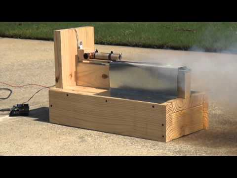 shepard v1 1 rocket motor test stand firing done by coca cola space science center youtube. Black Bedroom Furniture Sets. Home Design Ideas