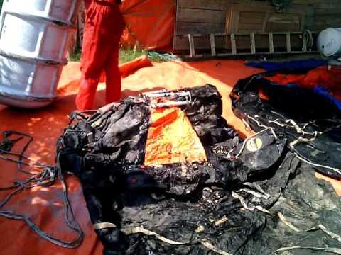 Life raft 5tahun gak pernah di service