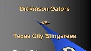 Dickinson Gator vs Texas City Stingarees - 1982