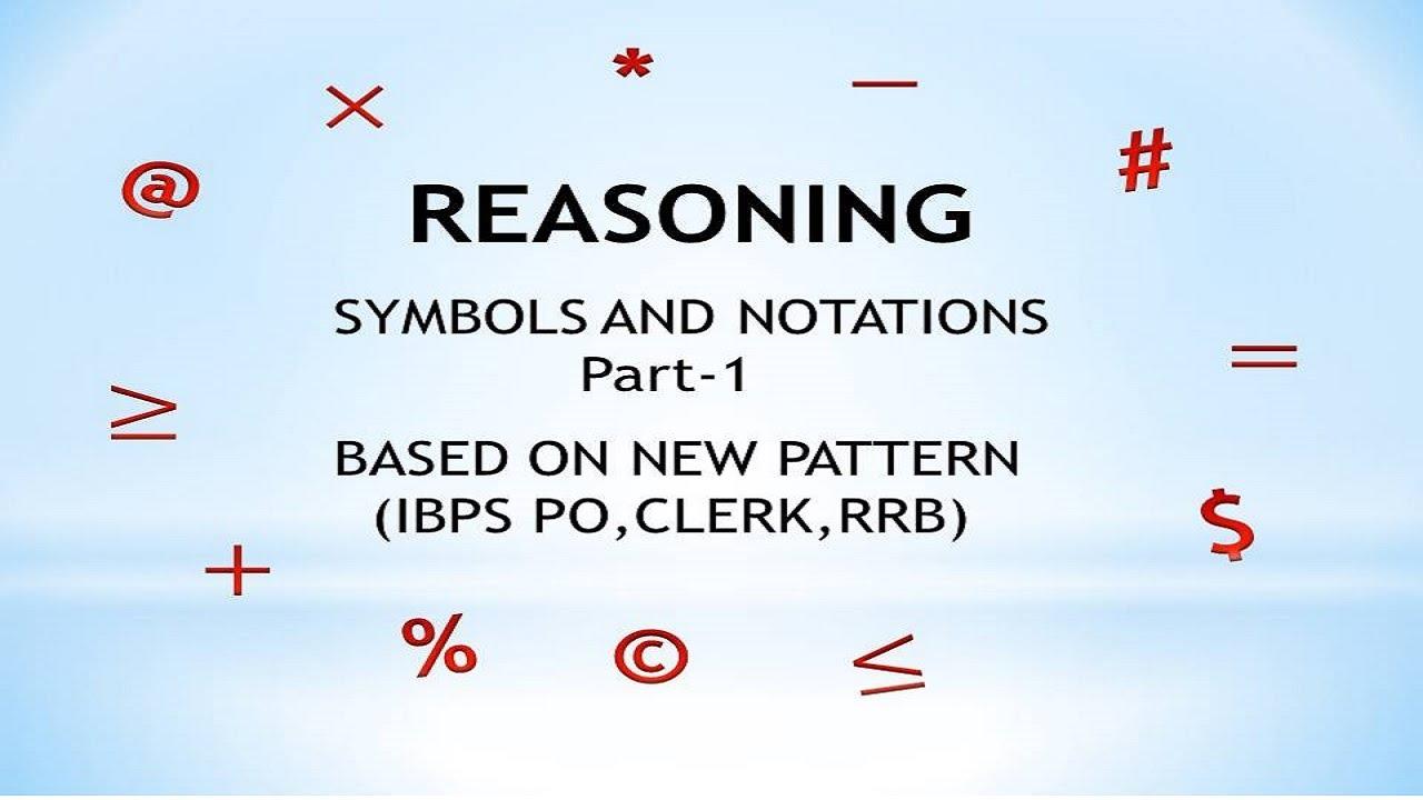 Reasoning symbols notations explanation in tamil part 1 reasoning symbols notations explanation in tamil part 1 buycottarizona