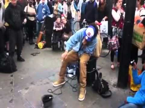 AMAZING!! Young street Beatbox in London