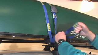 How to transport your canoe