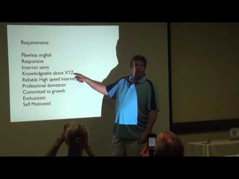 Outsourcing Internet Marketing - Geoff Ronning