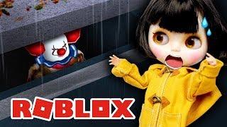 Меня утащил ПЕННИВАЙЗ в Роблокс - Страшный паркур от клоуна ОНО в ROBLOX Obby челлендж