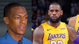 Rajon Rondo On Joining LeBron James and Lonzo Ball On The Lakers!