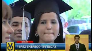 Pablo Pérez realizó entrega de 150 becas en el municipio Machiques de Perijá