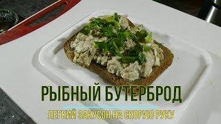 Бутерброды рыбные на скорую руку.