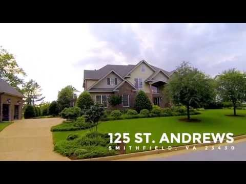 HD VIDEO TOUR: 125 St. Andrews • Smithfield, VA 23430