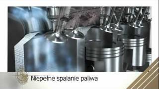 Forté - prezentacja ogólnej zasady oczyszczania podzespołów silnika