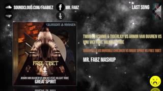 Tarantella vs Invisible Children vs Great Spirit vs Free Tibet (Mr. Fabz Mashup)