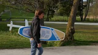 DIY Electric Hydrofoil Test